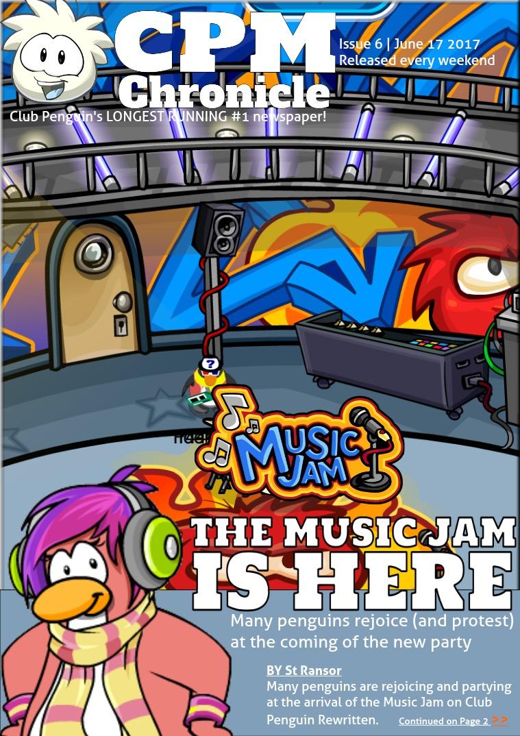 Club Penguin Metro Chronicle Issue 6