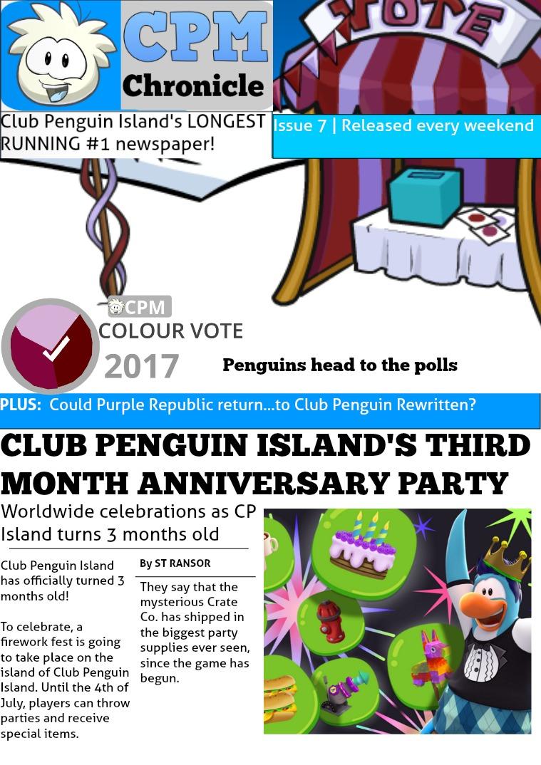 Club Penguin Metro Chronicle Issue 7