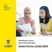 UNSW Business School Career Mentoring Program