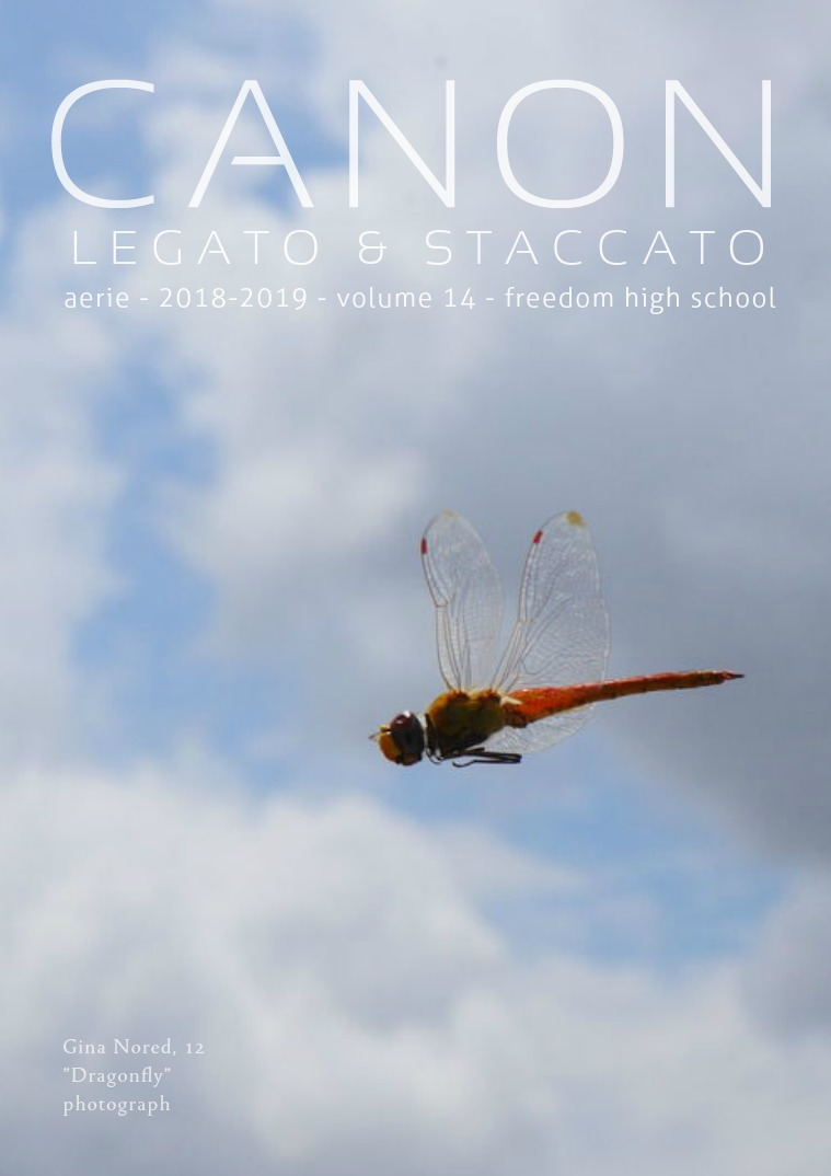 Aerie - FHS Literary and Art Magazine CANON - 2019 Issue - Volume 14