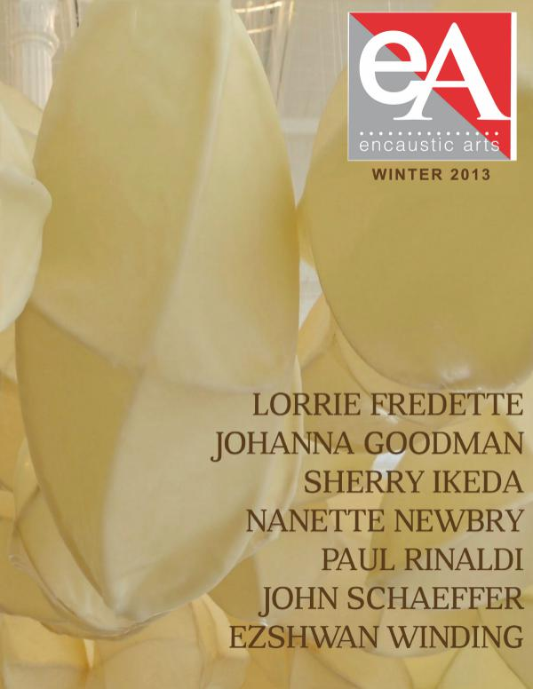 Encaustic Arts Magazine Winter 2013
