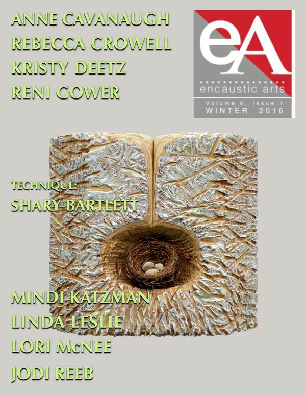Encaustic Arts Magazine WINTER 2016