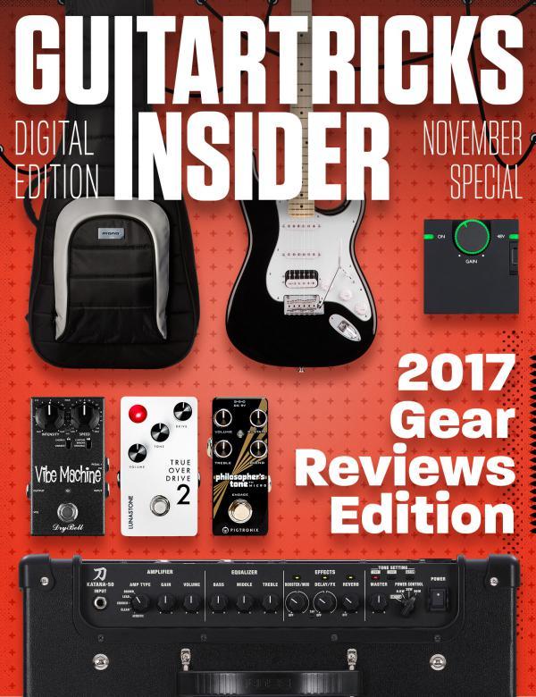 Guitar Tricks Insider Gear Reviews of 2017