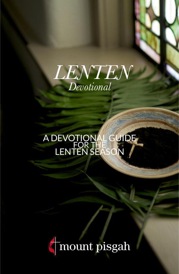 Mount Pisgah Lenten Devotional 2017