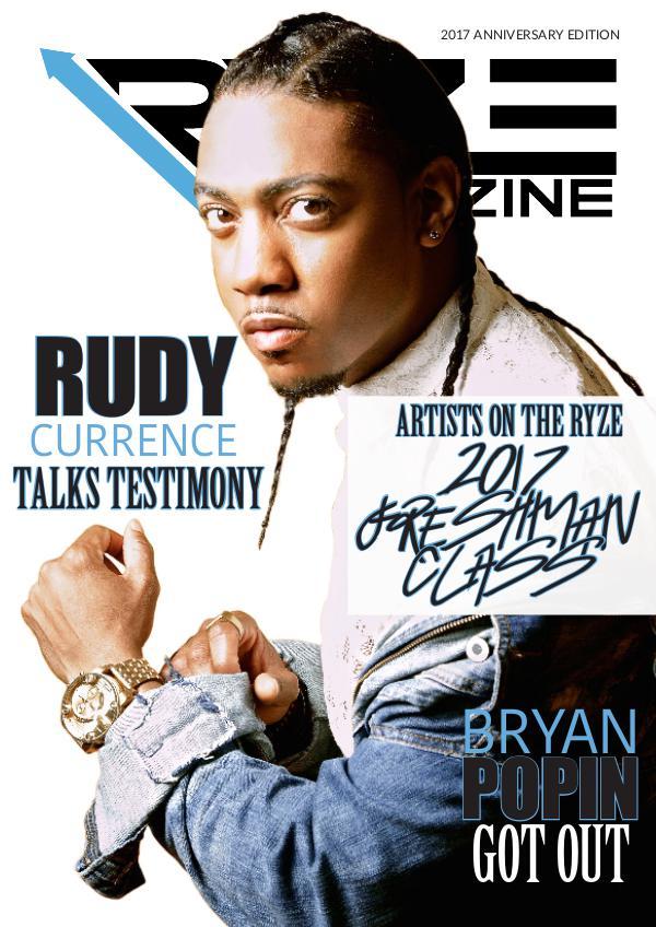 RYZE Magazine Anniversary Edition