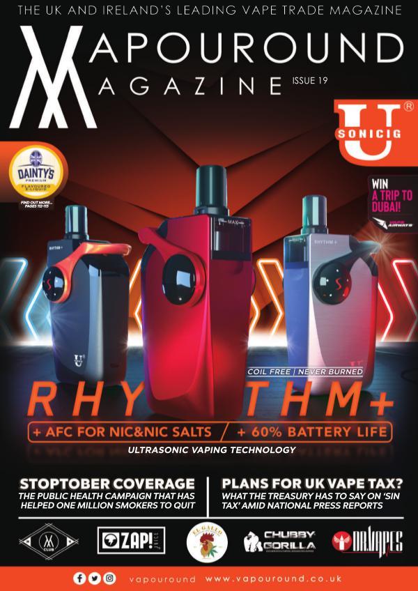 Vapouround magazine ISSUE 19