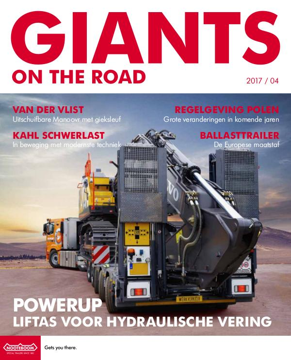 Nederlands - Nooteboom Giants on the Road Magazine Nederlands - Nr.4 - 2017