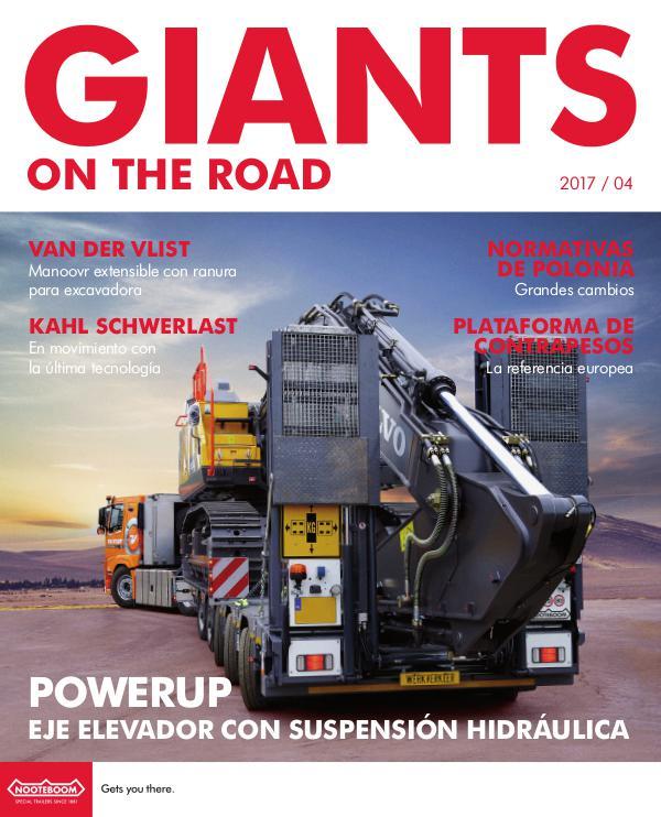 Español Nooteboom Giants on the Road magazine Español - Nr. 4 - 2017