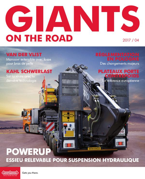 Francais Nooteboom Giants on the Road magazine Francais - Nr. 4 - 2017