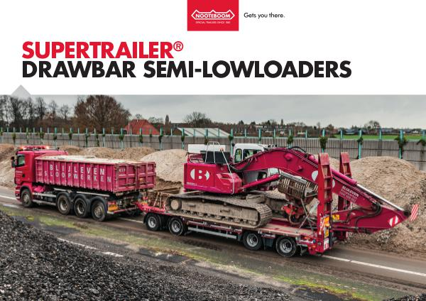 Nooteboom Documentation English Supertrailer Drawbar Trailer
