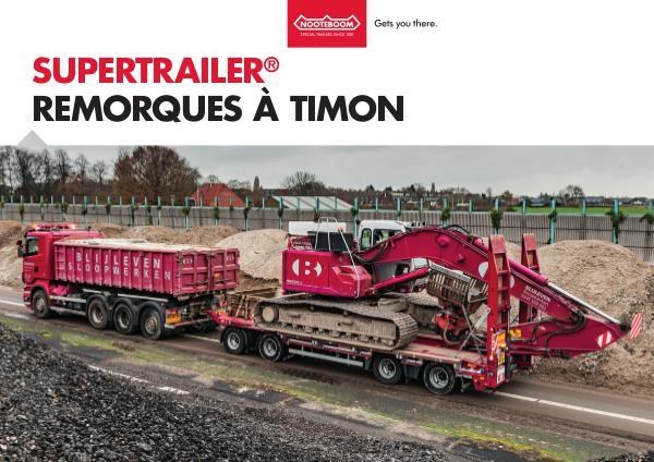 Nooteboom Documentation Francais Remorque à timon