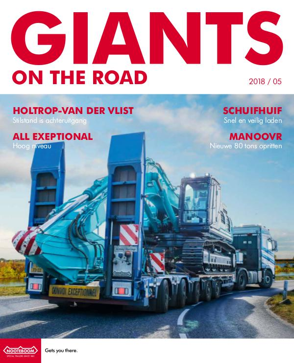 Nederlands - Nooteboom Giants on the Road Magazine Nederlands - Nr.5 - 2018