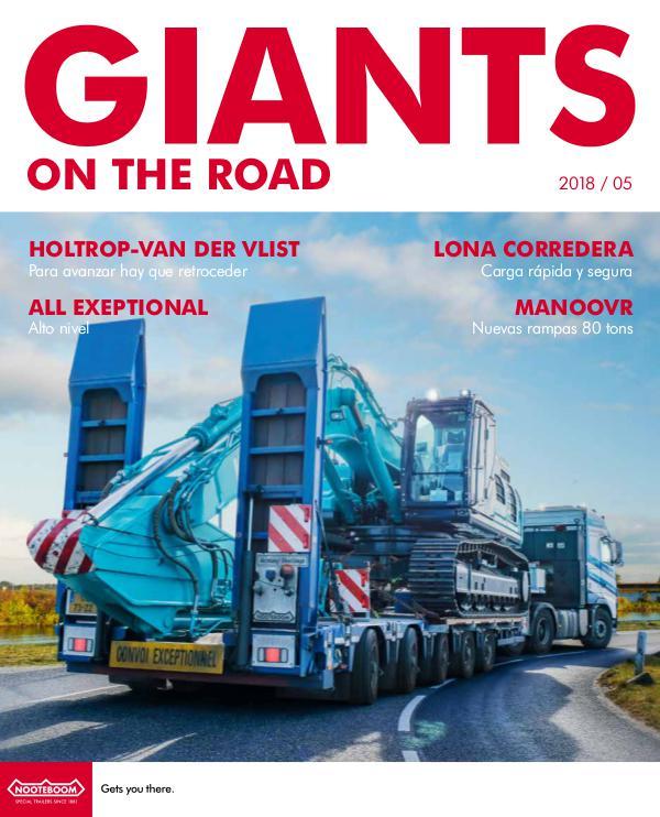 Español Nooteboom Giants on the Road magazine Español - Nr. 5 - 2018