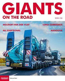 Español Nooteboom Giants on the Road magazine