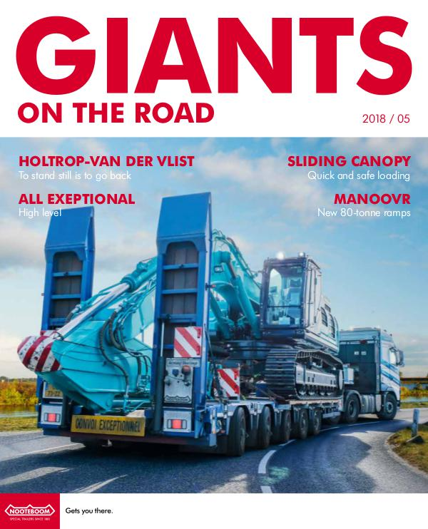English - Nooteboom Giants on the Road Magazine English - Nr. 5 - 2018