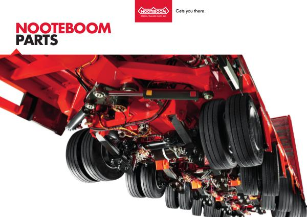 Nooteboom Parts Magazine Nooteboom Parts Magazine