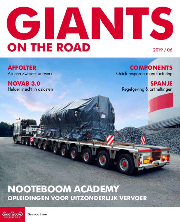 Nederlands - Nooteboom Giants on the Road Magazine Nederlands - Nr.6 - 2019