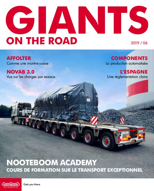 Francais Nooteboom Giants on the Road magazine Francais - Nr. 6 - 2019
