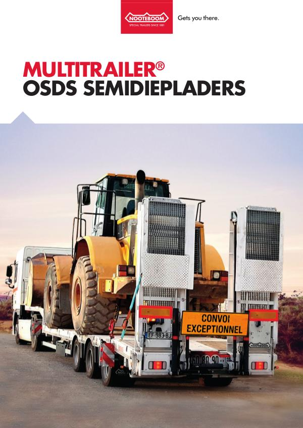 Nooteboom Documentatie Nederlands Multitrailer OSDS