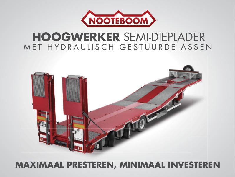 Nooteboom Documentatie Nederlands Multitrailer MCOS voor hoogwerker vervoer