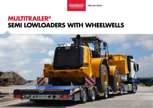 Nooteboom Documentation English Multitrailer OSDS with wheelwells
