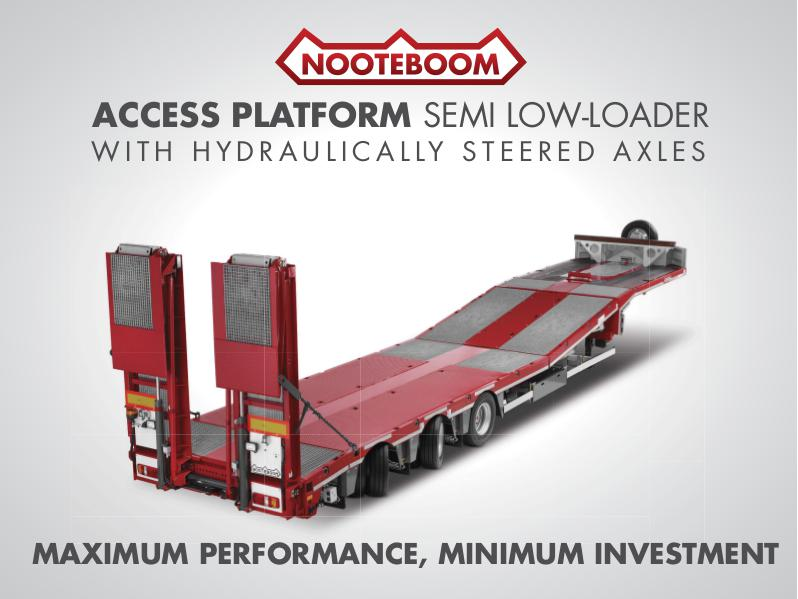 Nooteboom Documentation English Multitrailer MCOS for access platforms