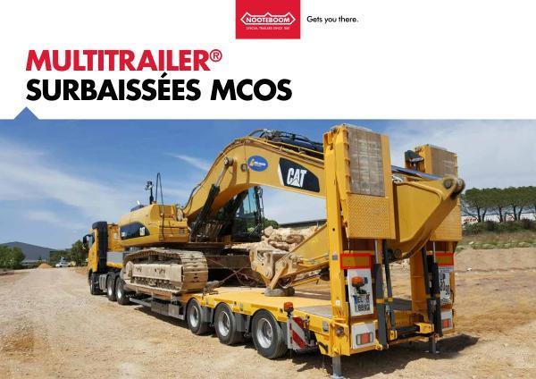 Nooteboom Documentation Francais Multitrailer MCOS