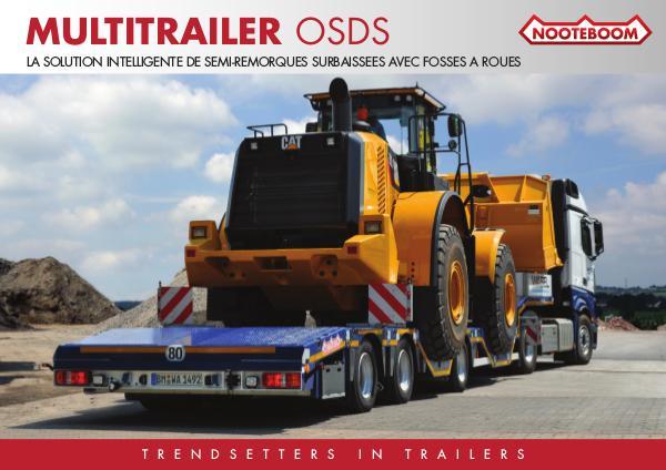 Nooteboom Documentation Francais Multitrailer OSDS avec fosses des roues