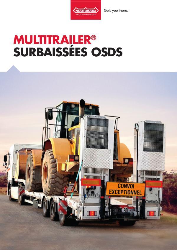 Nooteboom Documentation Francais Multitrailer OSDS