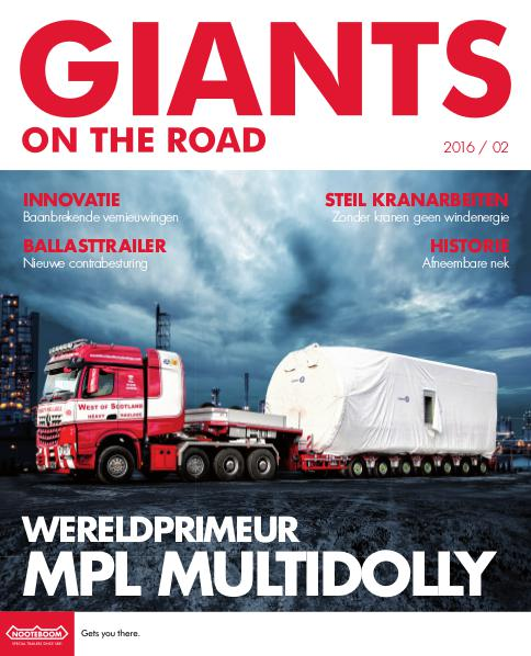 Nederlands - Nooteboom Giants on the Road Magazine Nederlands - Nr.2 - 2016