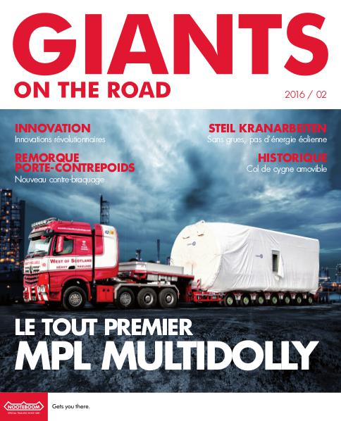 Francais Nooteboom Giants on the Road magazine Nr. 2