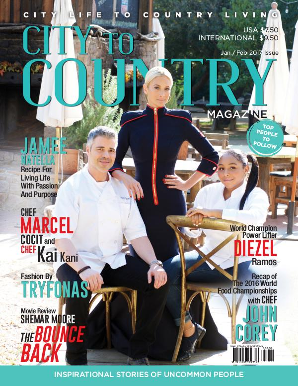 City To Country Magazine Jan/Feb 2017 Jan/Feb 2017