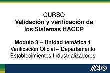 HACCP-M3UT1