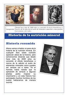 DCA- Curso 1. Nutrición mineral en plantas