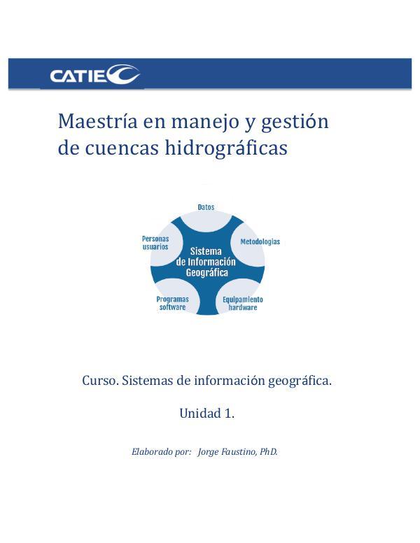 Unidad 1. Sistemas de información geográfica UNIDAD1
