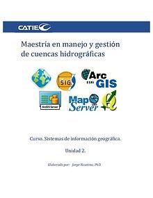 Unidad 2. Sistemas de información geográfica