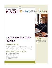 Curso-Vino - modulo 1.a. El mundo del vino