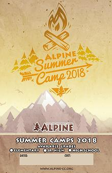 Summer Camp 2018 Poster