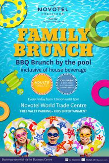 FRIDAY FAMILY BRUNCH AT NOVOTEL WORLD TRADE CENTRE