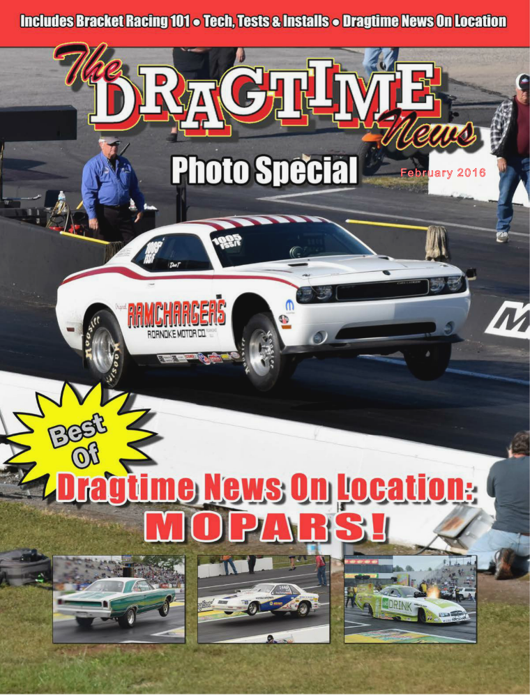 The Dragtime News February 2016 - Mopars Photo Special