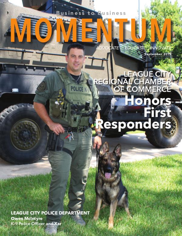 Momentum - Business to Business Online Magazine MOMENTUM September 2019