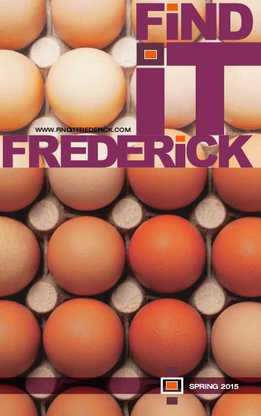 FiND iT FREDERiCK Magazine Spring 2015