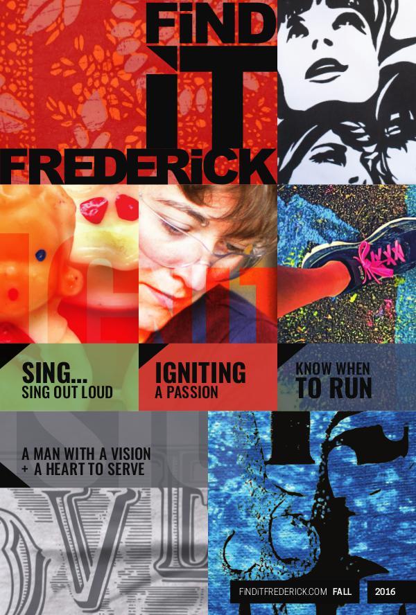 FiND iT FREDERiCK Magazine Fall 2016