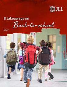 8 takeaways on Back to school