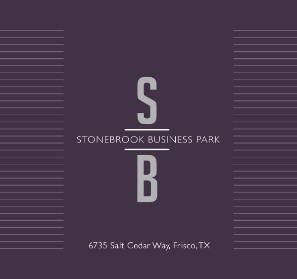 Dallas Property Marketing Stonebrook Business Park_Brochure_DIGITAL
