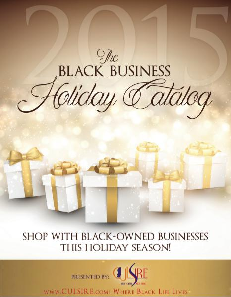 Black Business Holiday Catalog Black Business Holiday Catalog Vol. 1