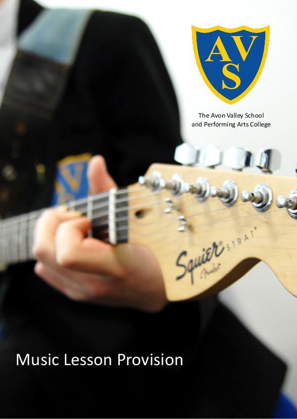AVS Music Lesson Provision September 2017