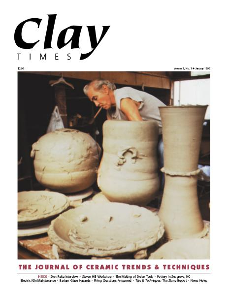 Clay Times Back Issues Vol. 2 Issue 2 • Jan 1996