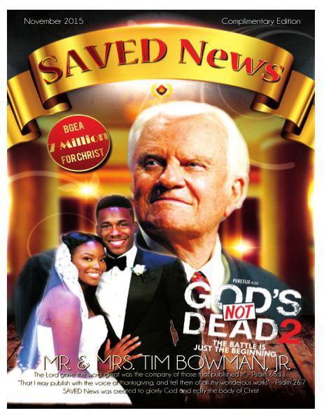SAVED News November 2015