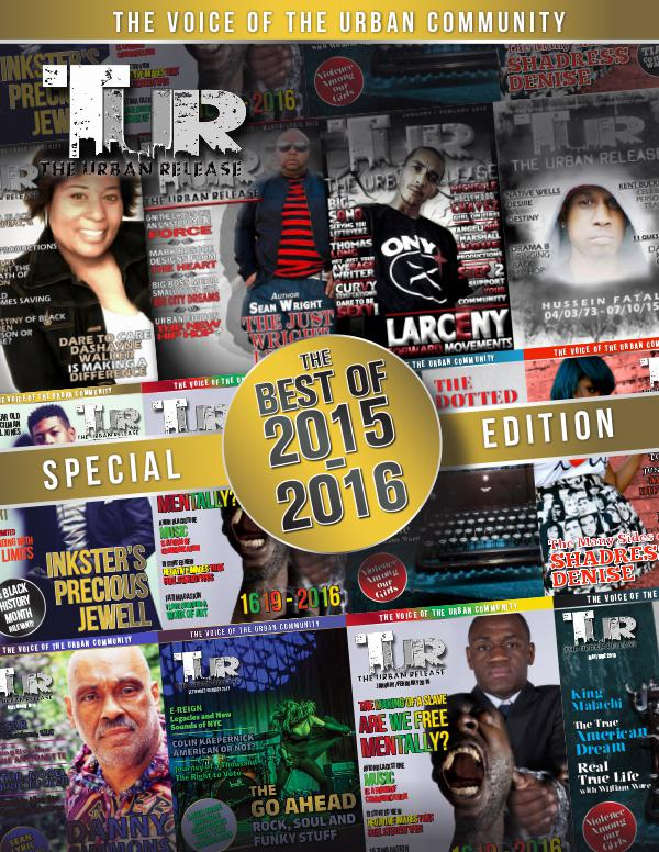 The Urban Release Special Edition The Best of 2015-2016